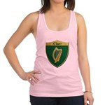 Ireland Metallic Shield Racerback Tank Top