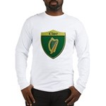 Ireland Metallic Shield Long Sleeve T-Shirt