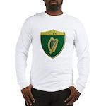 Ireland Metallic Shield Long Sleeve T-Shirt