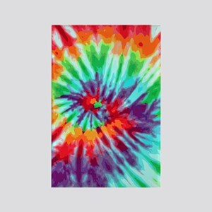 441 Tie-Dye9 Rectangle Magnet
