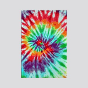 443 Tie-Dye9 Rectangle Magnet