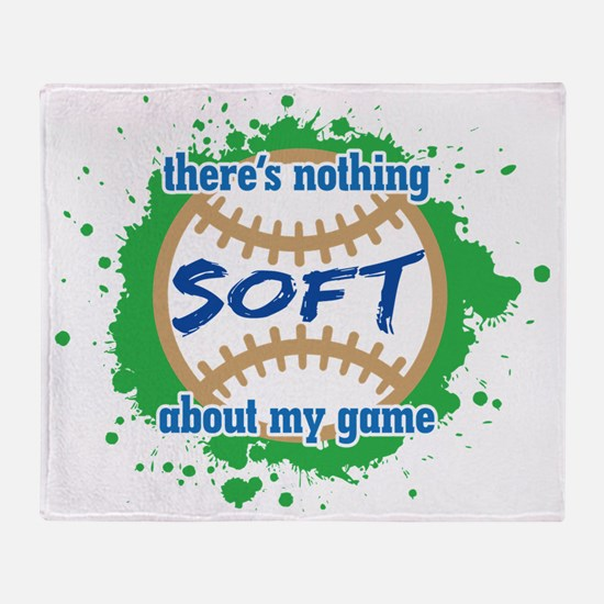 Nothing Soft-01 Throw Blanket