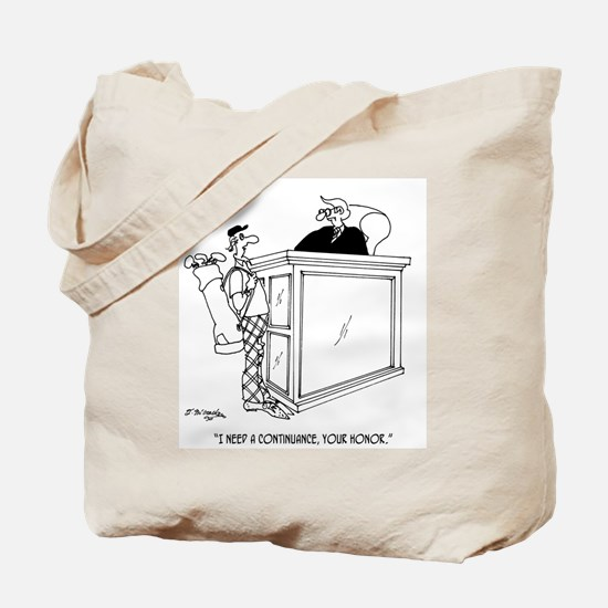 Golf Cartoon 5491 Tote Bag