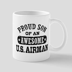 Proud Son of an Awesome US Airman Mug