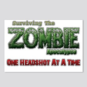 Zombie Apocalyse Good For Postcards (Package of 8)