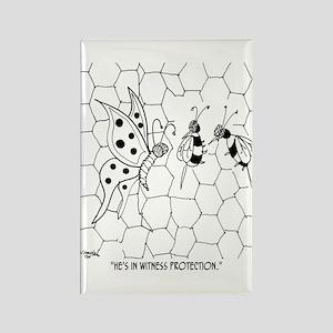 Butterfly Cartoon 8922 Rectangle Magnet