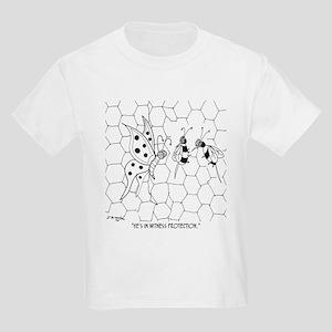 Butterfly Cartoon 8922 Kids Light T-Shirt