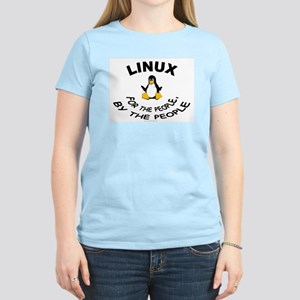 LINUX For The People Women's Pink T-Shirt