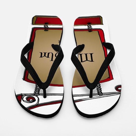 AMalcolmPrinter Flip Flops