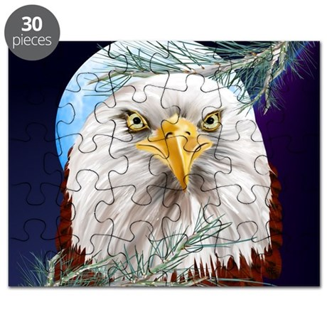 Eagle In The Pines_mpad Puzzle