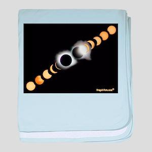 FF Solar Eclipse baby blanket