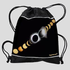 FF Solar Eclipse Drawstring Bag