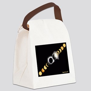 FF Solar Eclipse Canvas Lunch Bag