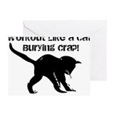 Burpees Greeting Cards