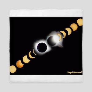 FF Solar Eclipse Queen Duvet