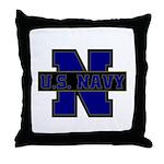US Navy  Throw Pillow