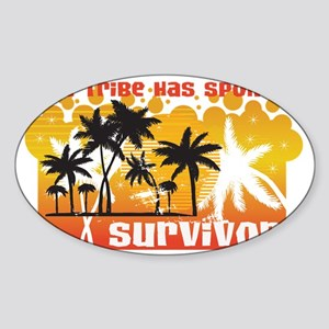 tribe-has-spoken_1 Sticker (Oval)