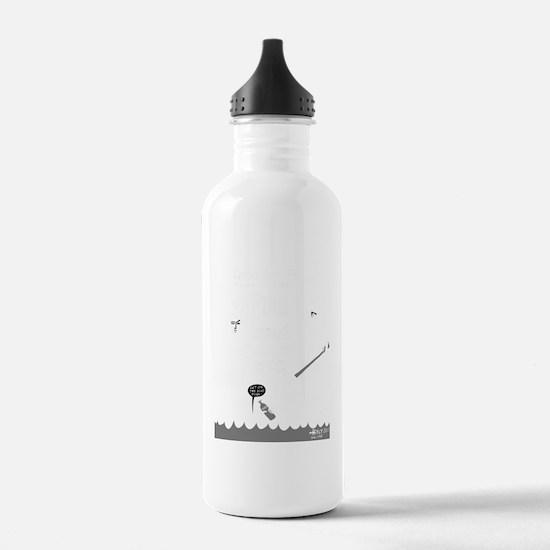 Punk Island! NYC 2011  Water Bottle