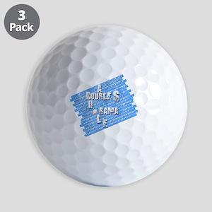 A Double S Golf Balls