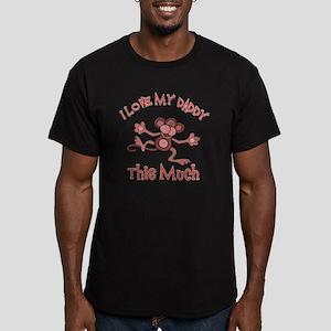 lovedaddy Men's Fitted T-Shirt (dark)