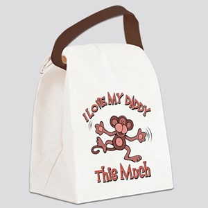 lovedaddy Canvas Lunch Bag