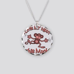 lovedaddy Necklace Circle Charm