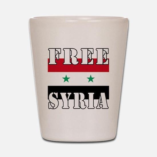 Free SyriA Shot Glass