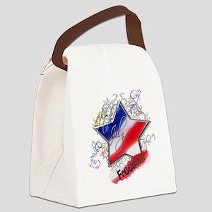 4th July Star Freedom Canvas Lunch Bag