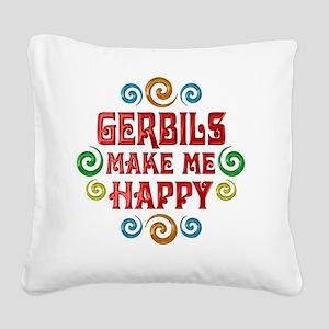 gerbil Square Canvas Pillow