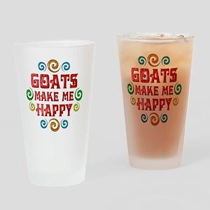 goat Drinking Glass