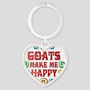 goat Heart Keychain