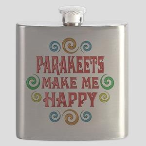 parakeets Flask