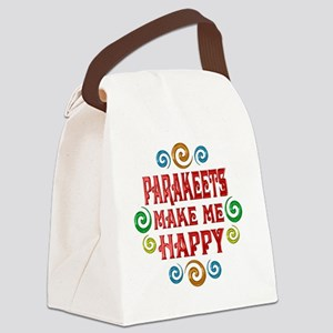 parakeets Canvas Lunch Bag