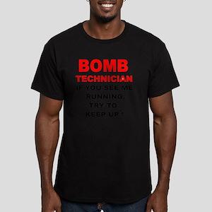 Bomb-Tech-T-Shirt-Ligh Men's Fitted T-Shirt (dark)