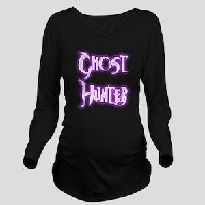 Ghosthunter 2 Long Sleeve Maternity T-Shirt