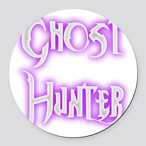 Ghosthunter 2 Round Car Magnet