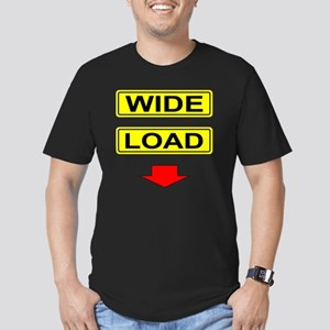 Wide-Load-T-Shirt-Ligh Men's Fitted T-Shirt (dark)