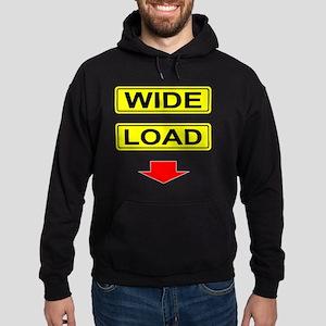 Wide-Load-T-Shirt-Dark_vectorized Hoodie (dark)