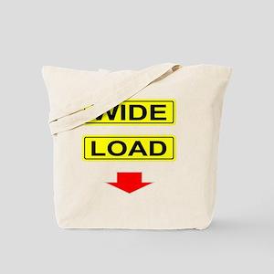 Wide-Load-T-Shirt-Dark_vectorized Tote Bag