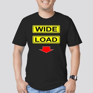 Wide-Load-T-Shirt-Dark Men's Fitted T-Shirt (dark)