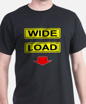 Wide-Load-T-Shirt-Dark_vectorized T-Shirt