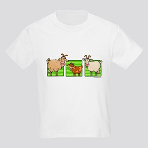3 goats Kids T-Shirt
