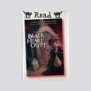 Read The Black Heart Crypt Rectangle Magnet
