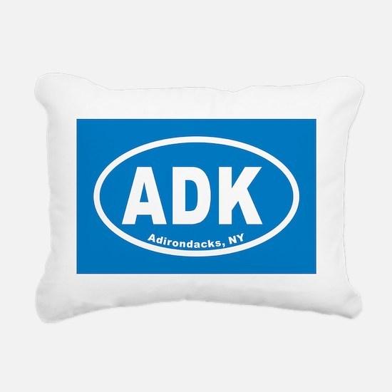 ADKblueovals20113x5cp Rectangular Canvas Pillow