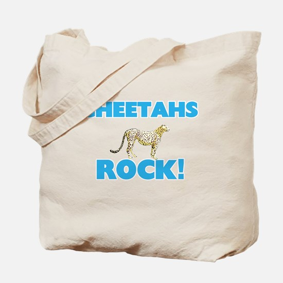 Cheetahs rock! Tote Bag