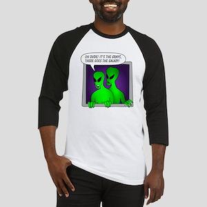 alien-window-3a Baseball Jersey
