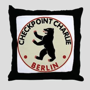 checkpointcharliedark Throw Pillow
