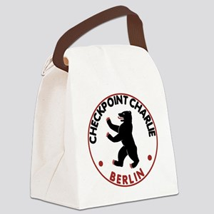 checkpointcharliewhite Canvas Lunch Bag