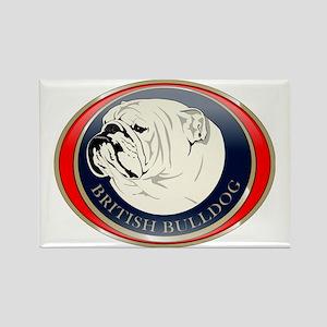 bulldog_english Rectangle Magnet