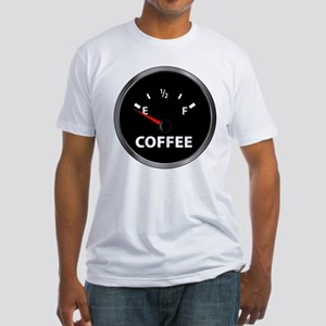 Out of Coffee Fitted T-Shirt